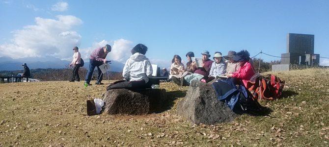 吾妻山で熱唱