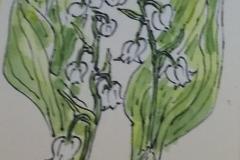 鈴蘭の香れる頃に嫁ぎ来ぬ 紺井緑