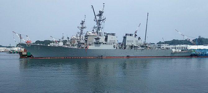海上自衛隊と米軍基地巡り